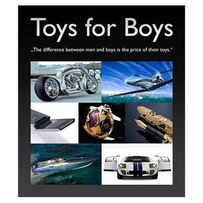 Livro Toys for Boys