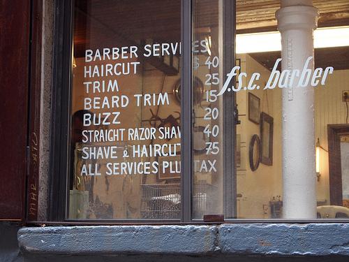F.S.C Barber