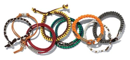 Braceletes Revista GQ