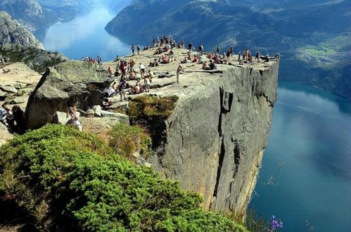 Preachers Rock, Preikestolen, Noruega