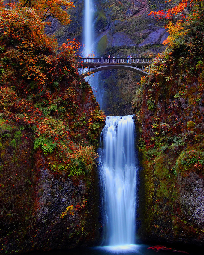 Multnomah Falls, Oregon, EUA