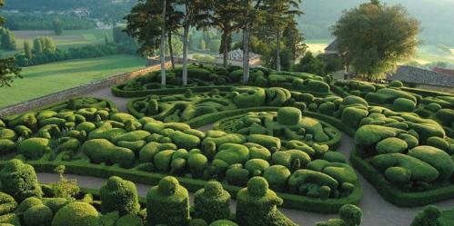Jardim Suspenso de Marqueyssac, Vale de Dordogne, França