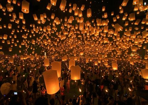 Festival da Lanterna, Taiwan