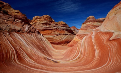 Coyote Buttes, Canyon-Vermilion Cliffs Wilderness, Arizona.